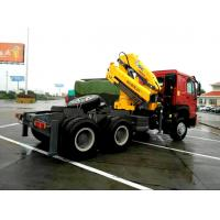 Buy cheap Vehicle mounted 14 Ton Knuckle Boom Truck Crane For Transporting Heavy Things from wholesalers