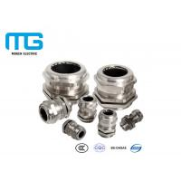 China IP68 Cable Accessories Electrical Nickel Plated Brass Metal Cable Gland wholesale
