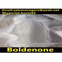 China Cutting Fat Boldenone Steroids / 1-Dehydrotestosterone Cas 846-48-0 White Crystalline Powder wholesale