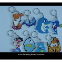 China NEW Design 3D Cartoon PVC Keychain/key ring/keyring for promotional gifts wholesale
