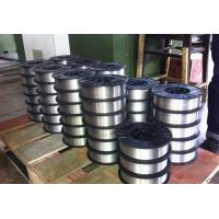 China Silver ER5356 / ER4043 Aluminum Welding Wire With Little Spatter Pure Nickel Core wholesale