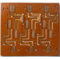 China Circuit Board Flexible PCB PCBA Yellow Solder Mask Polyimide Material W / Finished wholesale