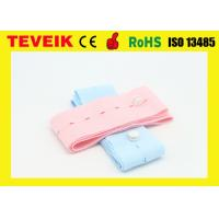 Wholesale Disposable CTG belt with buttonhole / 6cm x 1.2m fetal monitor belts 2pcs / bag from china suppliers