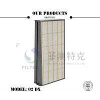 China 300Pa Initial Resistance Flat Panel Filter For Gas Turbine Air Inlet AAF 02 DX Model on sale