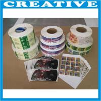 China 2013 promotional product adhesive labels wholesale