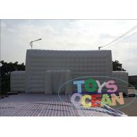 China Giant White Cube Inflatable Tents Building For Marquee Advertising Exhibition wholesale