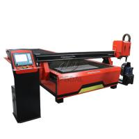 China 2060 CNC Steel Sheet & Steel Pipe Plasma Cutting Drilling Machine with Rotary Axis/200A Hypertherm Plasma Power Supply wholesale