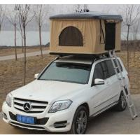 China Fiberglass Hard Shell Pop Up Tent , Truck Bed Hard Top Tent With Sponge Mat wholesale