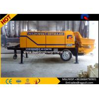 Quality 4500Kg Static Pump Concrete , Small Concrete Pump 10 Mpa Outlet Pressure for sale