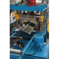 China 0.3mm - 0.8mm High Speed Ridge Cap Roll Forming Machine 380V 50HZ 3 Phase wholesale