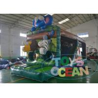 China Animal Theme Safari Inflatable Bouncer Combo Jungle Park For Outdoor Party wholesale