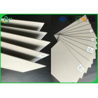 China Strong Stiffness Recycled Mixed Pulp 1.5mm - 2.5mm Laminated Grey Board For Folder Book Binding wholesale