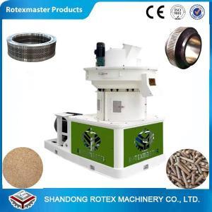 China 90 KW Ring Die Pellet Machine 6mm/8mm , CE Approved Ring Die Pellet Mill wholesale