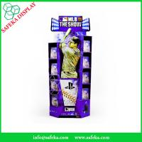 China Funko Free Standing Promotion Baseball DVD display Rack paper Supermarket advertising floating stand wholesale