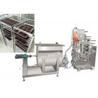 China Facial Cream / Ingredient Oil Sauce Packaging Machine With HiBar Pump on sale