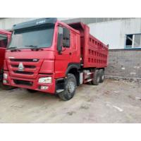China HOWO Used Dump Trucks 375 Hp 6X4 Model For Mining Transport ISO Approved wholesale