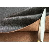 Brown Leather Car Upholstery Fabric With 15 Cotton And 15