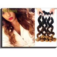 Buy cheap High Fasion Peruvian Hair 3tone Color Natural Wave Hair Extension from wholesalers