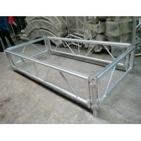 Quality 4*8 Feet Assembly Outdoor Used Portable Anti slip Aluminum and Wooden Wedding Stage for sale