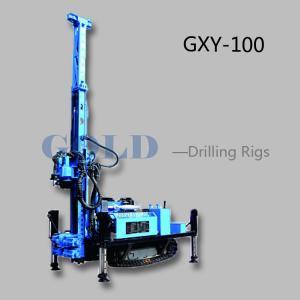 Diesel drilling rig GXY-100 hydraulic drilling rig, diesel drilling machine