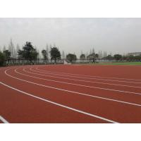 Non Toxic Harmless Running Track Flooring With Good Water Drainage