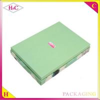 Quality Luxury handmade oil painting paper gift box for sale