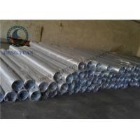 China Low Carbon Steel Water Well Pipe , Well Casing Screen 1.0 Mm Slot Size wholesale