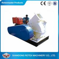 China Work Stable 6-8t/h Industrial Disc Wood Chipper Portable 90-110kw Power wholesale