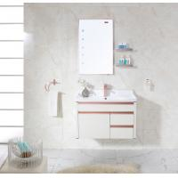 China Luxury Washroom Cabinets With Towel Hanger Washing Basin Set and Water Tap wholesale