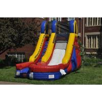 China New 15 foot Splash Curved Front Wet/Dry Slide wholesale