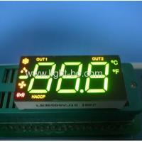 Ultra White/Red 0.50-inch 3 Digit 7-Segment LED Display for thermostats application
