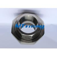 Buy cheap ASTM A182 / A105 F321 High Pressure Pipe Fittings , Stainless Steel Forged Union from wholesalers