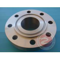 China Pipeline Rolled Ring Welded Flange High Pressure , 42CrMo4 Alloy Steel Flange Forging wholesale