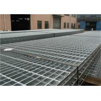 China Custom Galvanised Steel Driveway Grates Grating With Serrated For Ditch Cover on sale