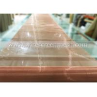 China Phosphor Bronze Wire Screen Mesh Twill Weave Abrasion Resistance For Metal Power Filtration wholesale