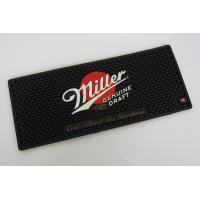 China Eco Friendly Custom Soft Bar Runner Mats With Miller Logo wholesale
