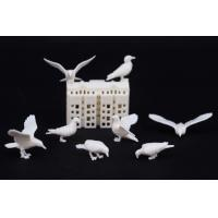 Quality unpainted model dove,pigeo,model animal,white model doves,1:50model pigeonbird of peace,scale birds for sale