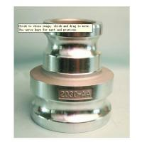China Aluminum reducing cam groove coupling for fluid control  Type  AA MIL-A-A-59326 Gravity casting wholesale