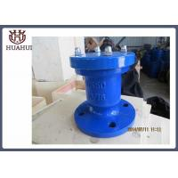 China Pipeline Use Water Air Relief Valve , Automatic Water Release Valve Lightweight wholesale