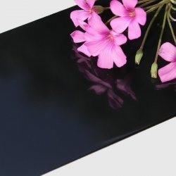 China Antibacterial 5mm Black Mirror Aluminum Composite Panel wholesale
