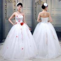 China Professional Sexy Open back Princess ball gown Wedding Dresses customized wholesale