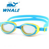 China Comfortable Silicone Swimming Goggles Anti Fog Reviews For Child Eyeglasses Protection Eye wholesale