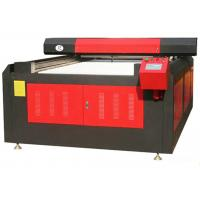 China 3D Color Laser Printer Leather Cutting Machine For Shoe Upper / Clothing Fabric on sale