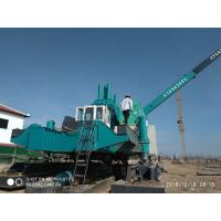 Quality Highway Hydraulic Piling Machine , Pile Pressing Machines No Noise for sale