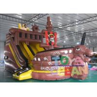 China CE Pirate Ship Inflatable Slides wholesale