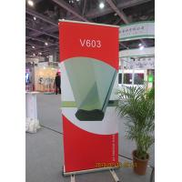 Quality Scrolling Retractable Trade Show Banners For Exhibition 80*200cm for sale