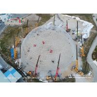 China Dia 30 - 60m Geodesic Dome Tents Steel Frame For Outdoor Exhibition wholesale