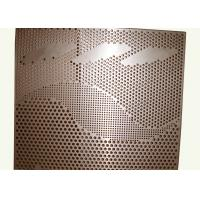 China Interior / Exterior Wall Cladding Custom Aluminum Panels Perforated Metal Wall Panels wholesale