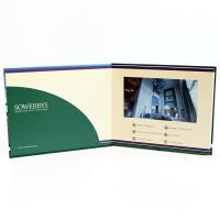 China Video in folder Free Sample Limited Automatic opening veremonies lcd video brochure card with multimedia effect wholesale