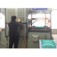 China HIPS Plate Thermoplastic Vacuum Forming Machine Double Heating Temperature wholesale